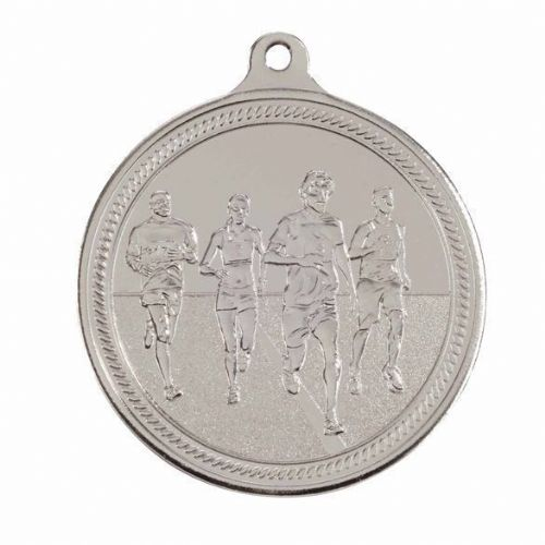 Endurance Running Medal Silver 50mm